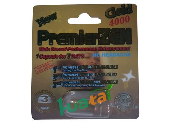 چین Premierzen 3D Card Growth Male Enhancement For Long Time Sexual Time تامین کننده